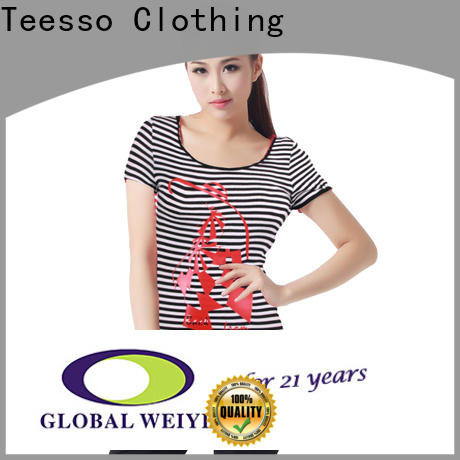 Teesso new cute shirts for women suppliers for promotion