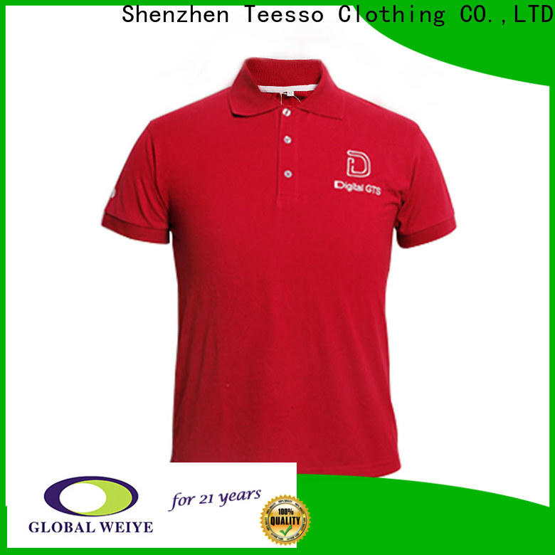 cuff fitted polo shirts company from china