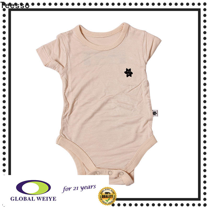 Teesso comfortable baby suit with your logo for girl