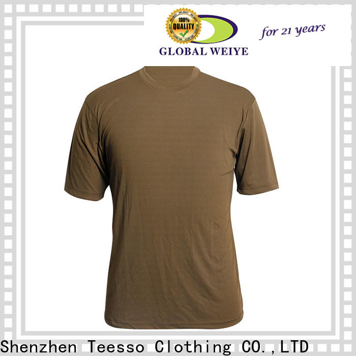 Teesso black cheap blank t shirts apparel for men