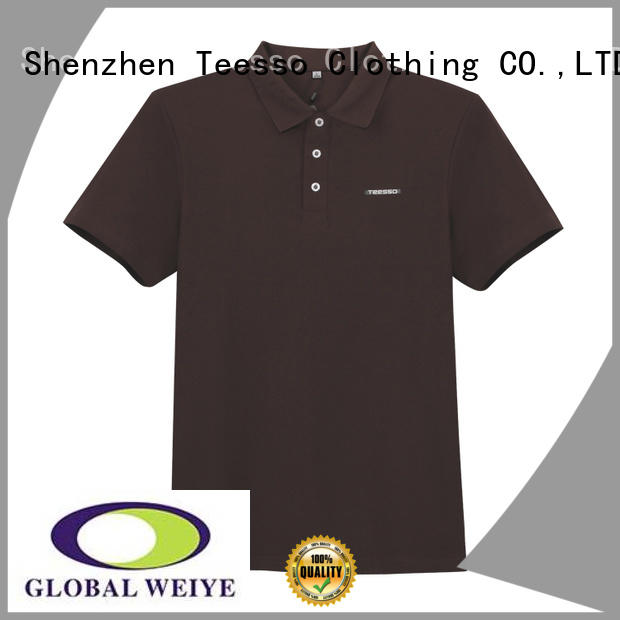 Teesso short sleeve polo manufacturers for sale