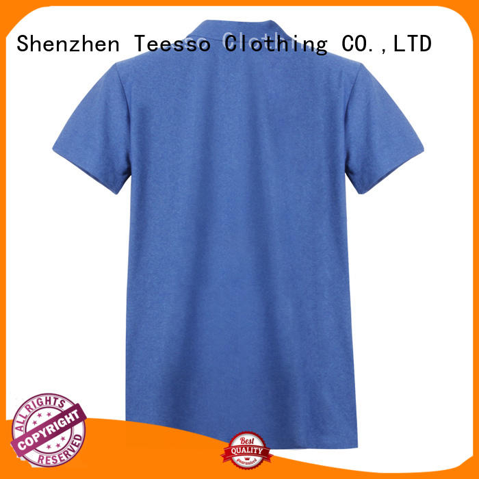 Teesso men's cotton polo shirts supply from china