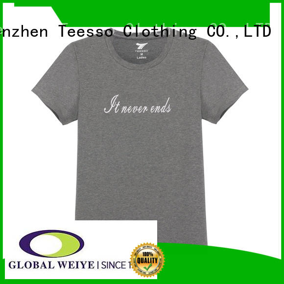 Teesso basic t shirts women's for business for sale