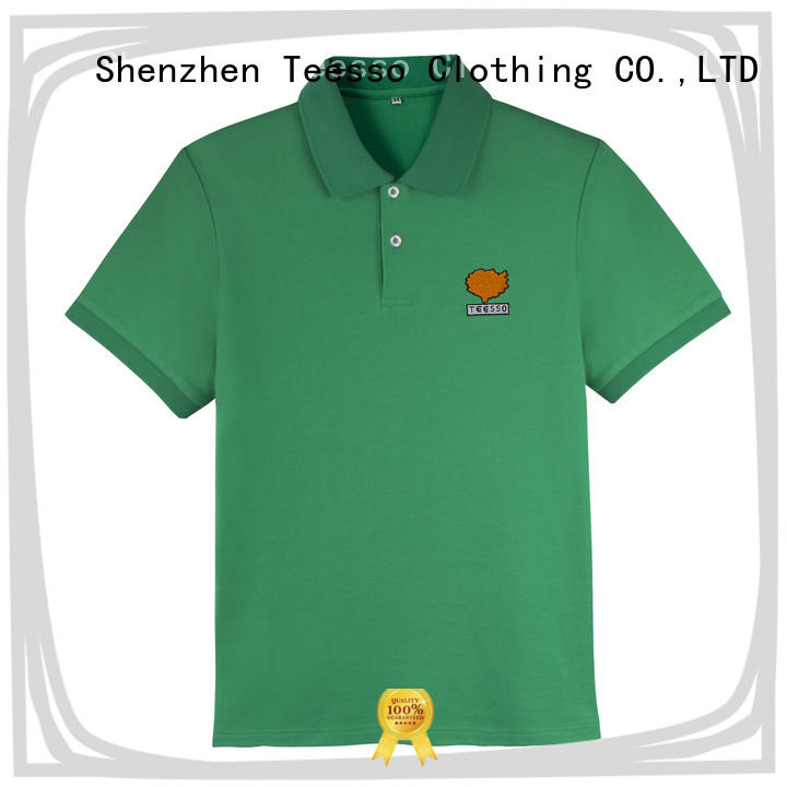 Teesso best polo shirts manufacturers for men