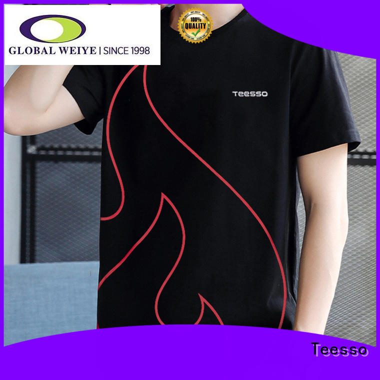 Teesso clothes latest t shirts for mens for business for promotion