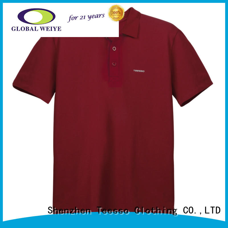 latest knitted polo shirt mens company for men
