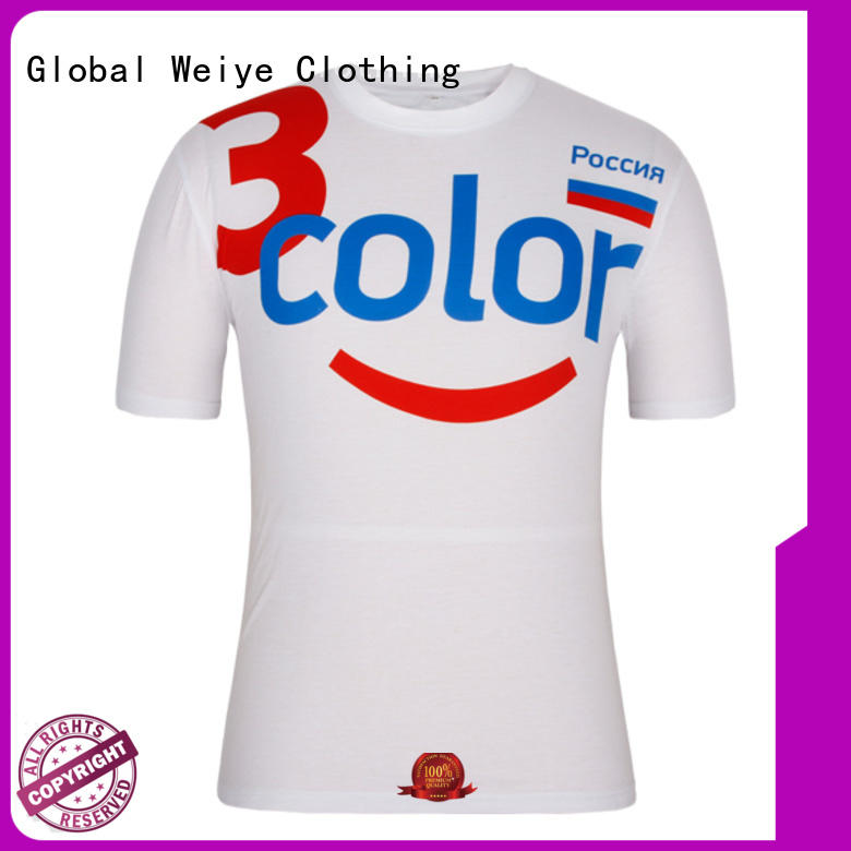 mens casual tee shirts mens clothes Global Weiye Brand quality mens t shirts