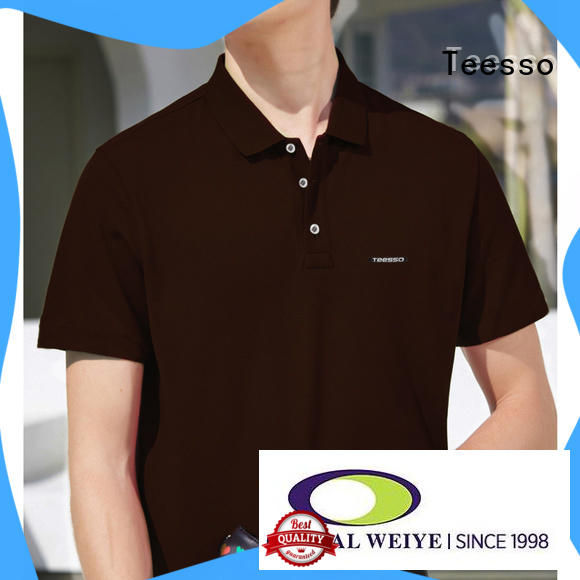 Teesso on tee men's cotton polo shirts company from china