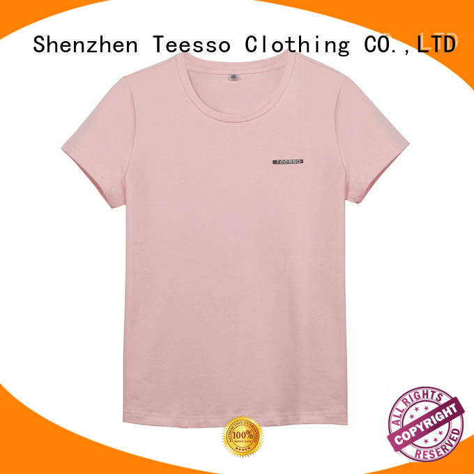 Teesso best v neck t shirts women manufacturers for sale